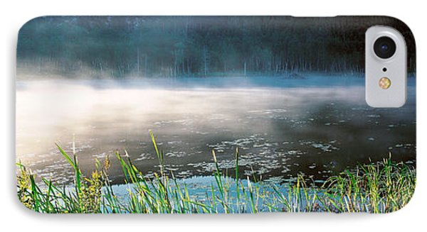 Morning Fog Acadia National Park Me Usa IPhone Case by Panoramic Images
