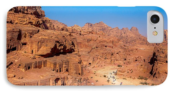 Morning In Petra IPhone Case by Alexey Stiop