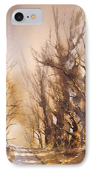Morning Light Phone Case by Roland Byrne