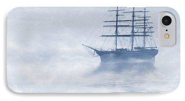 Morning Mists Cyanotype Phone Case by John Edwards