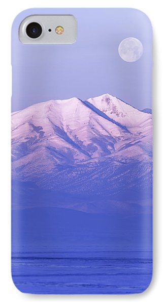 Morning Moon IPhone Case by Chad Dutson