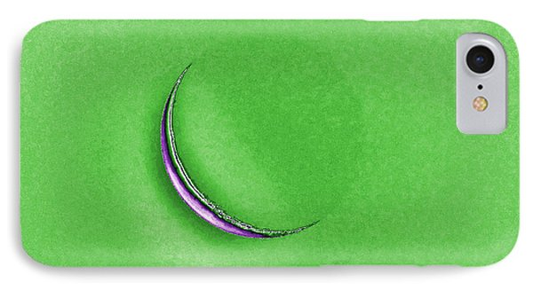 Morning Moon Green Phone Case by Al Powell Photography USA