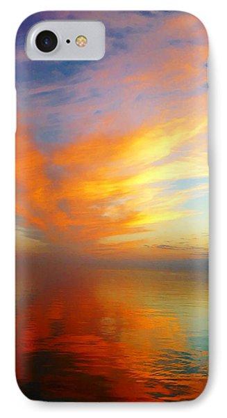 Morning Sky Ocracoke Nc Phone Case by Joan Meyland