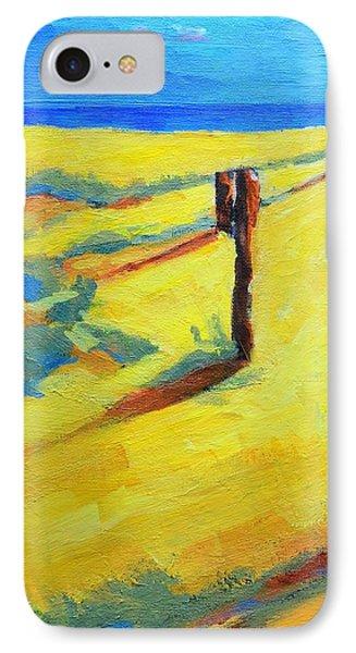 Morning Sun At The Beach Phone Case by Patricia Awapara