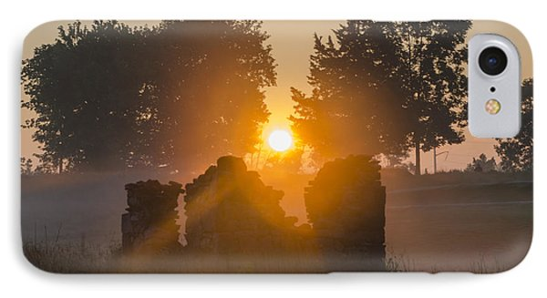 Morning Sunrise At Philadelphia Cricket Club IPhone Case by Bill Cannon