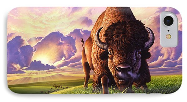 Morning Thunder IPhone Case by Jerry LoFaro