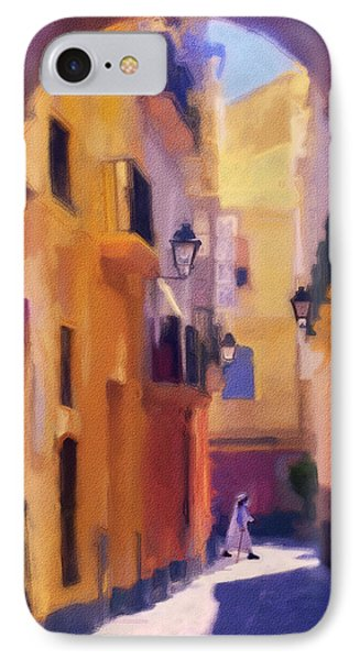 Moroccan Light Phone Case by Bob Galka