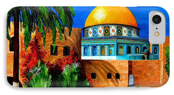 Mosque - Dome Of The Rock IPhone Case by Patricia Awapara