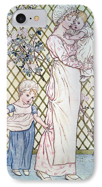 Mother And Child IPhone Case by Kate Greenaway