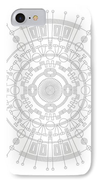 Mother IPhone Case by DB Artist