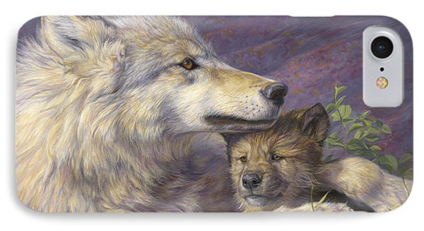 Mother's Love IPhone 7 Case by Lucie Bilodeau