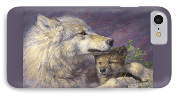 Mother's Love IPhone Case by Lucie Bilodeau