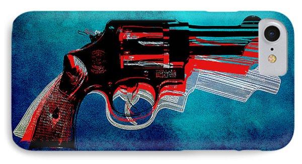 Motion Gun IPhone Case by Gary Grayson