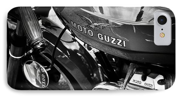 Moto Guzzi Le Mans  IPhone Case by Tim Gainey