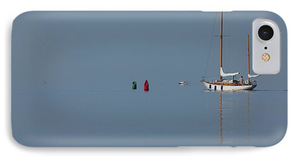 Motoring Sail Phone Case by Karol Livote