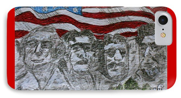 Mount Rushmore Phone Case by Kathy Marrs Chandler