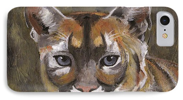 Mountain Cat Phone Case by Jamie Frier