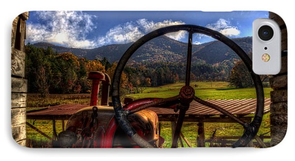 Mountain Farm View IPhone Case by Greg and Chrystal Mimbs