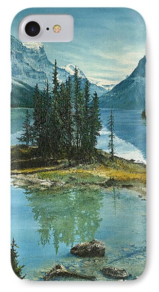 Mountain Island Sanctuary Phone Case by Mary Ellen Anderson