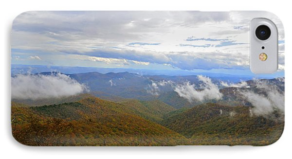 Mountain Seasons Phone Case by Susan Leggett