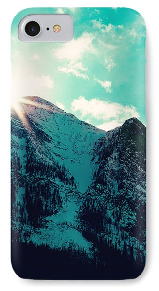 Mountain Starburst IPhone Case by Kim Fearheiley