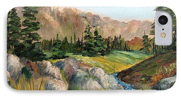 Mountain Stream Phone Case by Dorothy Maier
