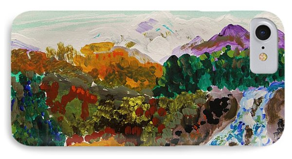 Mountain Water Phone Case by Mary Carol Williams