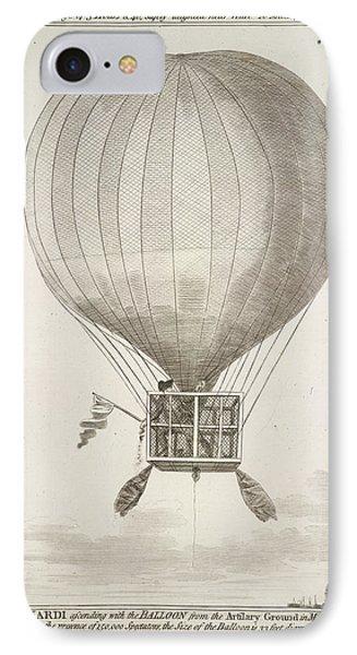 Mr. Lunardi Ascending IPhone Case by British Library