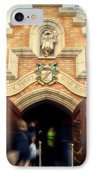 Mr Toads Wild Ride Fantasyland Disneyland IPhone Case by Thomas Woolworth