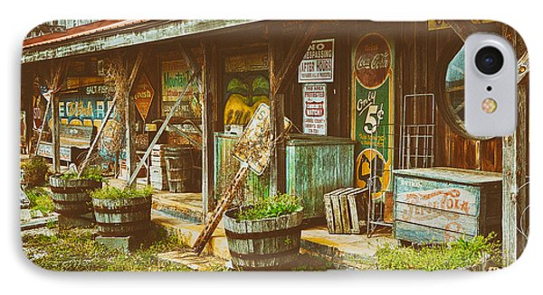 Mt. Airy Old Country Store II IPhone Case by Dan Carmichael