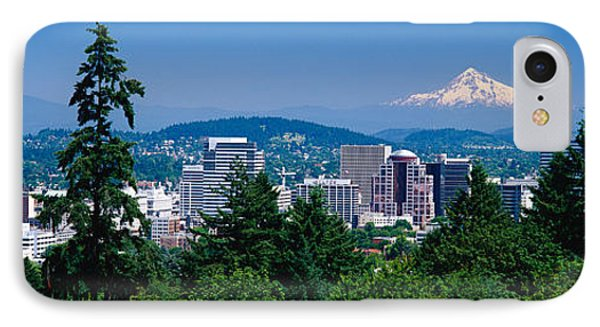 Mt Hood Portland Oregon Usa IPhone Case by Panoramic Images