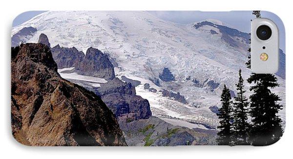 Mt Rainier From Panhandle Gap IPhone Case by Scott Nelson