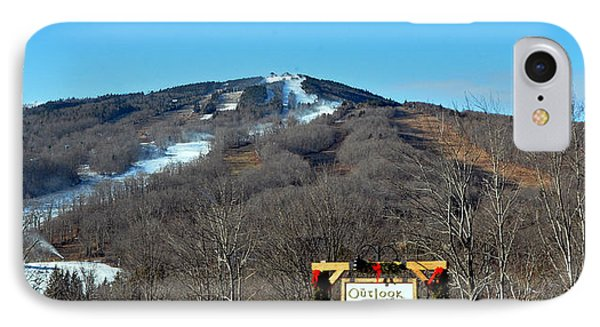 Mt Snow Vermont Phone Case by Mary Anne Williams