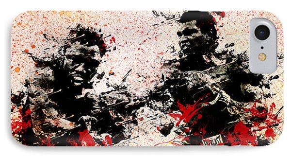 Muhammad Ali 2 IPhone Case by Bekim Art