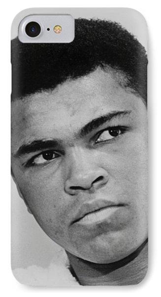 Muhammad Ali IPhone Case by Ira Rosenberg