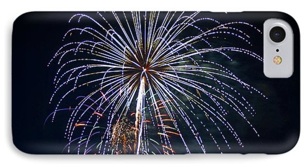 4th Of July Fireworks 12 Phone Case by Howard Tenke