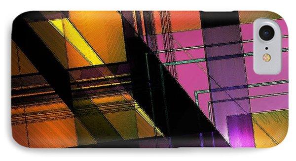 Multicolored Combination Art Phone Case by Mario Perez