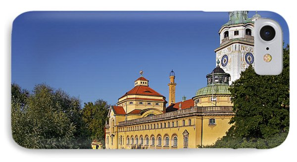 Munich - Mueller'sches Volksbad - Au-haidhausen Phone Case by Christine Till