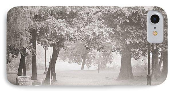 Museum Park Fog Phone Case by Trish Tritz