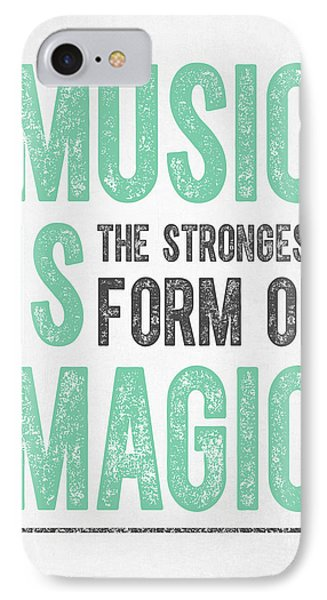 Music Is Magic IPhone Case by Aged Pixel