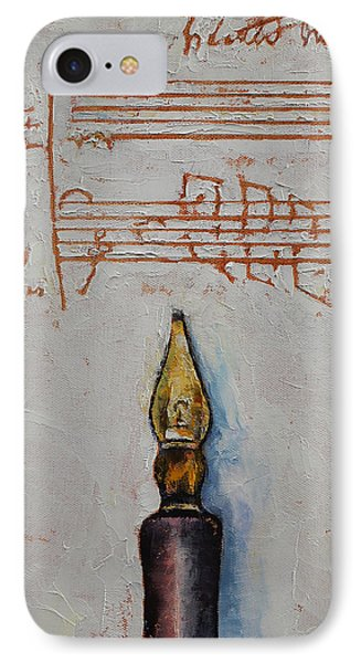 Music IPhone Case by Michael Creese