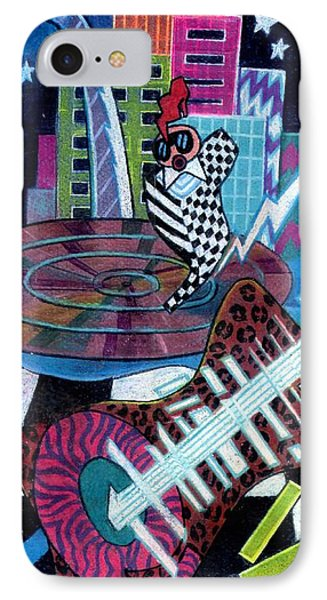 Music On The River Stl Style IPhone Case by Genevieve Esson