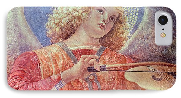 Musical Angel With Violin IPhone Case by Melozzo da Forli