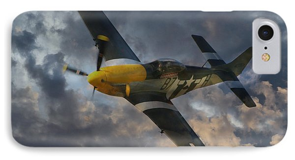 Mustang Tribute IPhone Case by J Biggadike