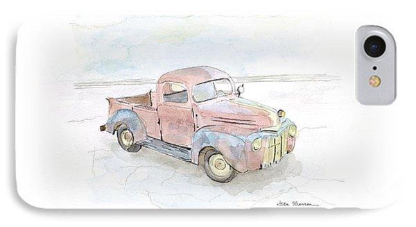 My Favorite Truck IPhone Case by Joan Sharron
