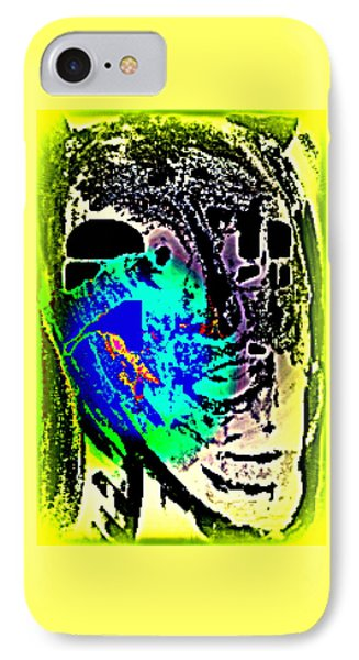 my ghost is my guest and I need nobody else  IPhone Case by Hilde Widerberg