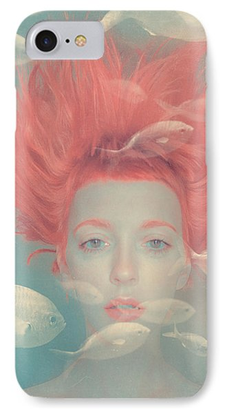 My Imaginary Fishes IPhone Case by Anka Zhuravleva