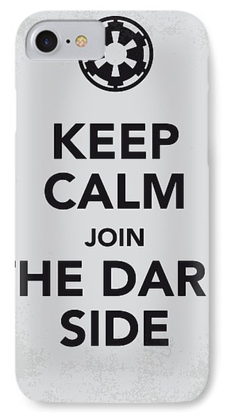My Keep Calm Star Wars - Galactic Empire-poster IPhone Case by Chungkong Art
