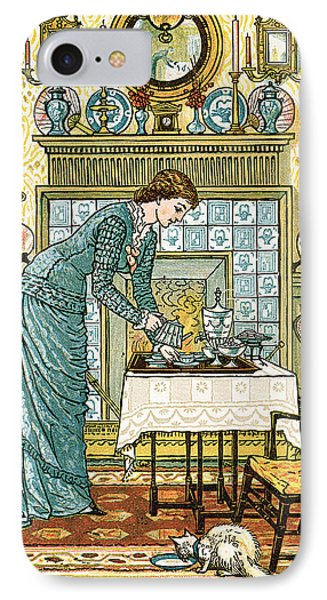 My Lady's Chamber Phone Case by Walter Crane