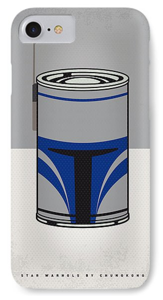 My Star Warhols Jango Fett Minimal Can Poster IPhone Case by Chungkong Art